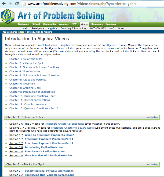 top 10 math website example