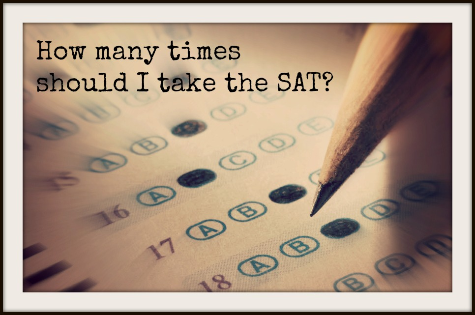 how many times should i take the sat