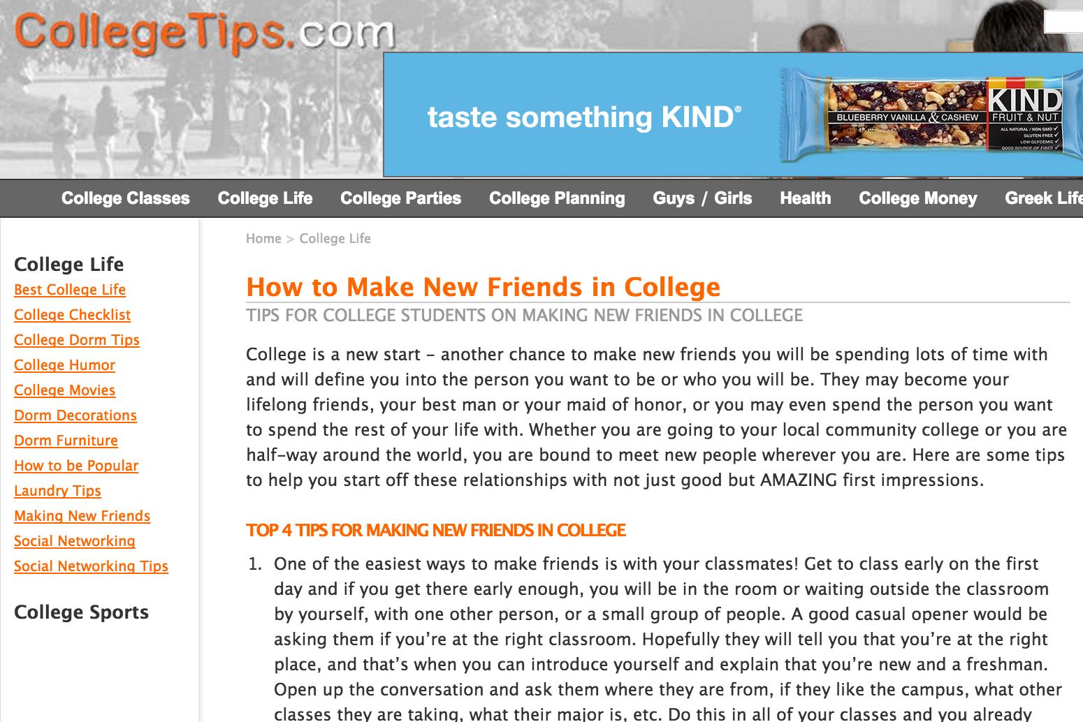 collegetips.com