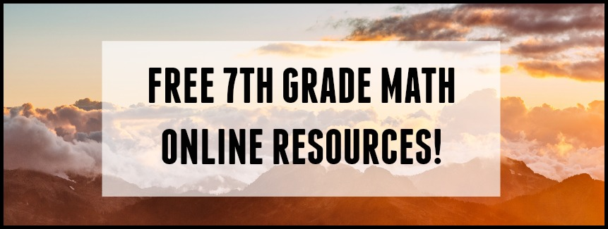 7th grade math online resources student-tutor