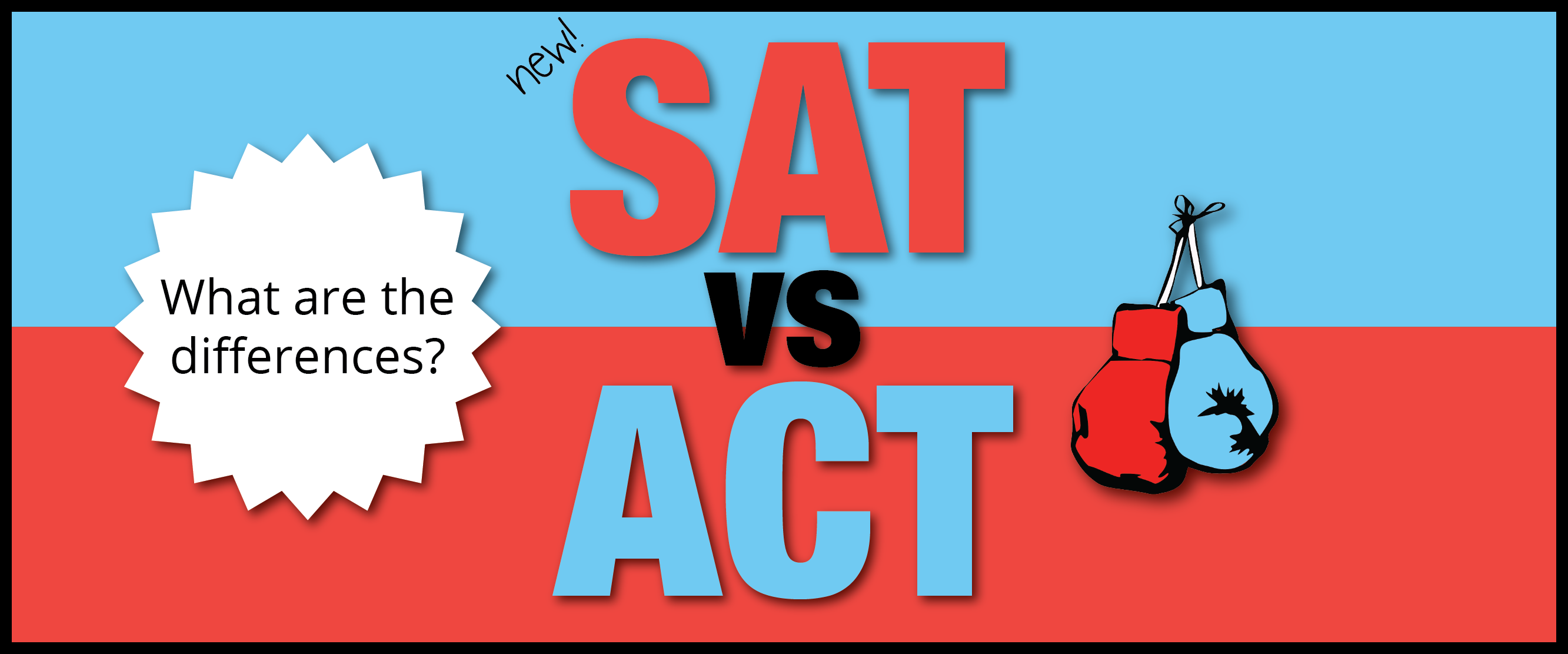 SAT: New SAT Vs. ACT [infographic]