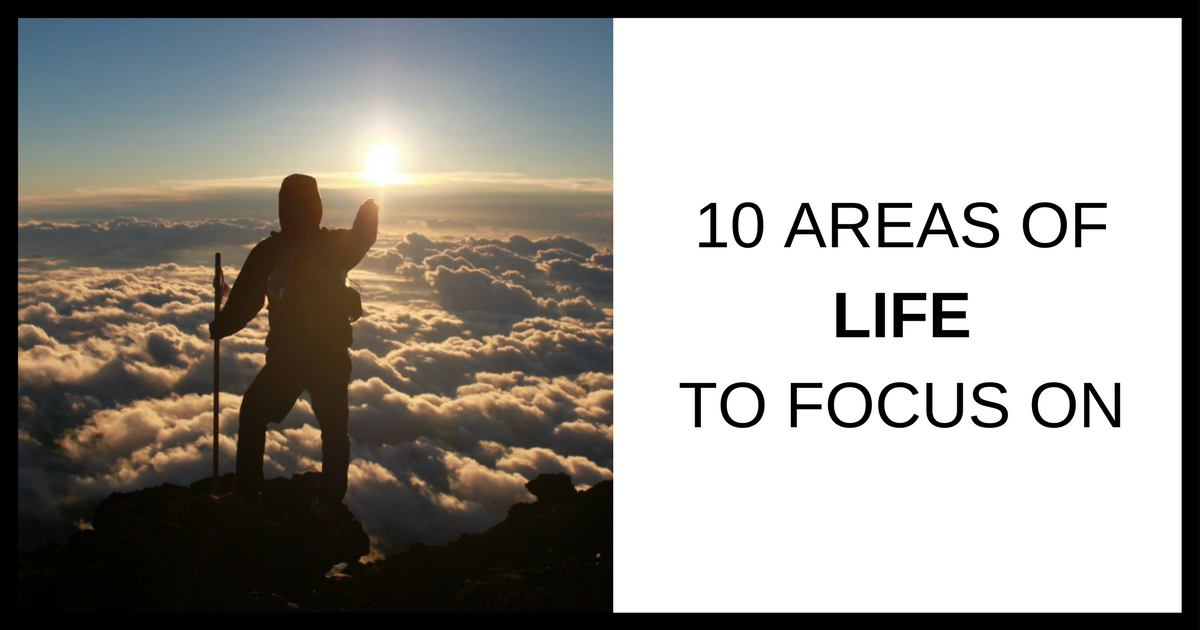 10 Areas Of Life You Need To Focus On Student Tutor Blog