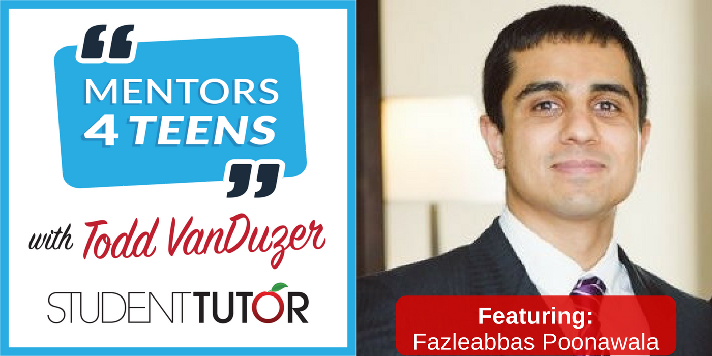 Student-Tutor Mentor, Fazleabbas Poonawala - Pharmacist