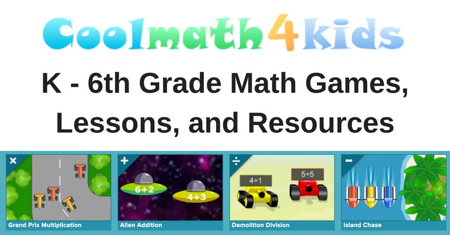 Cool Math 4 Kids - Math + Games for kids, teachers, and parents