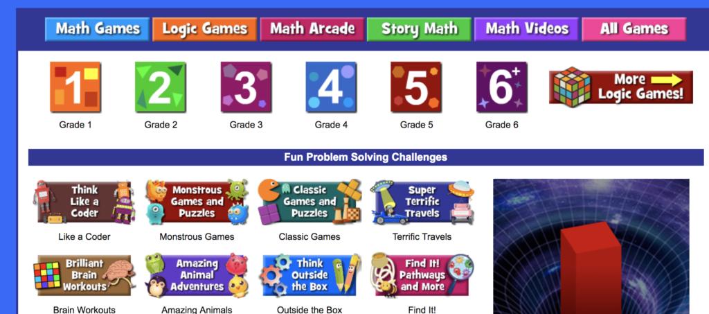 Math Playground Logic Games