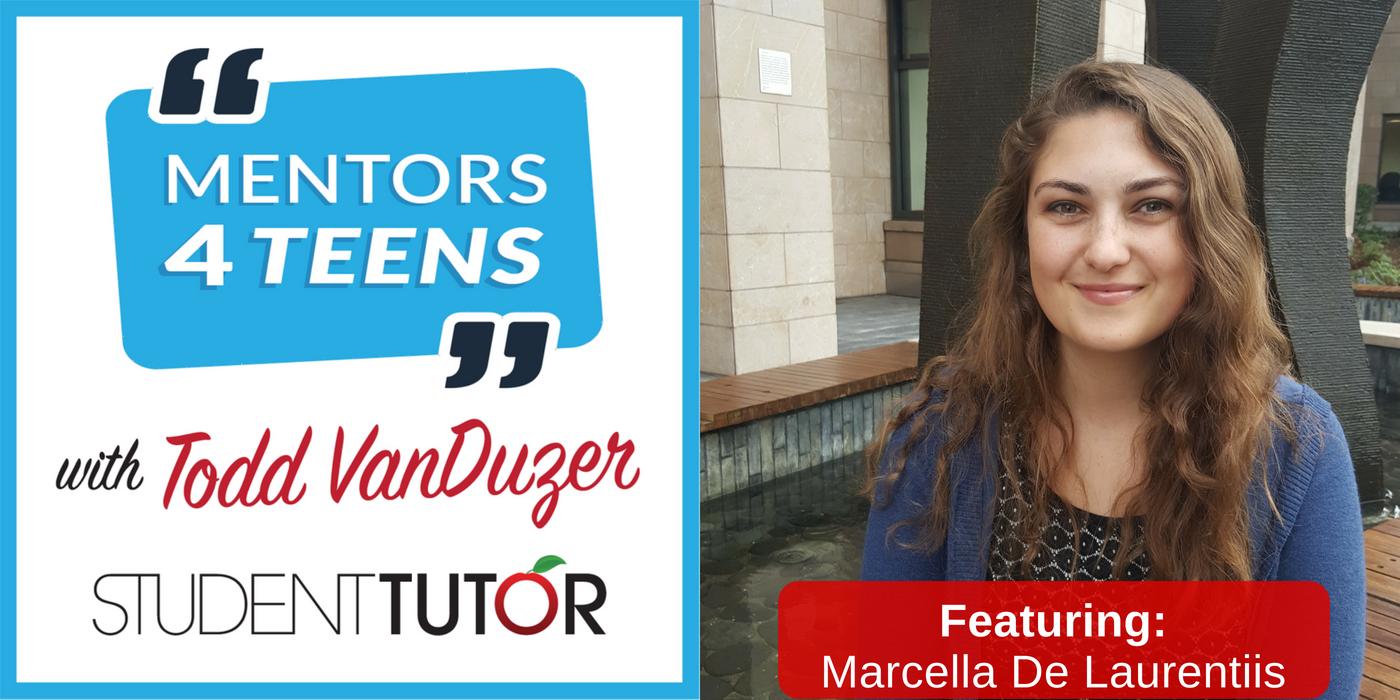 Student-Tutor Mentor, Marcella De Laurentiis