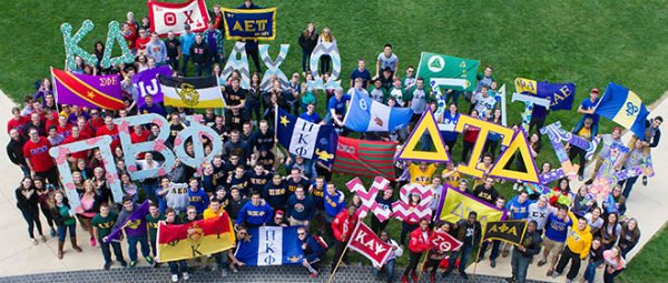 With so many fraternities and sororities, you're bound to make friends
