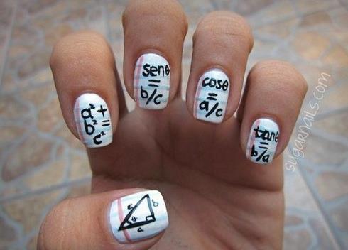 cheat sheets on nails