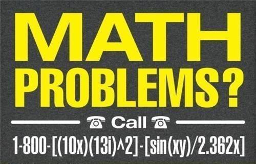 math problems call