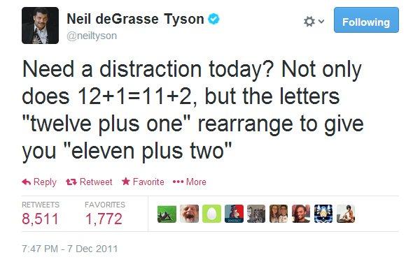 neil degrasse tyson math cool fact