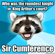 sir cumference joke