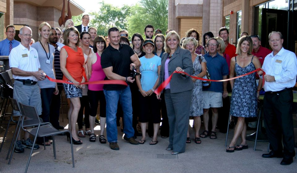 Laura Petersen at Chandler Chamber of Commerce Ribbon Cutting