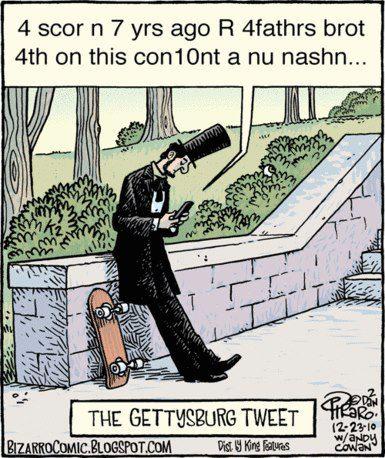 gettysberg tweet