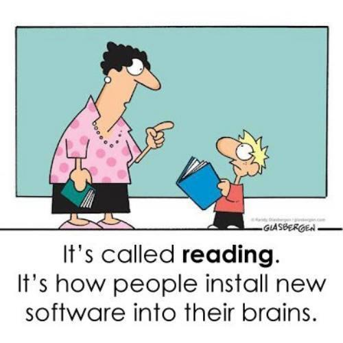reading install software to brain
