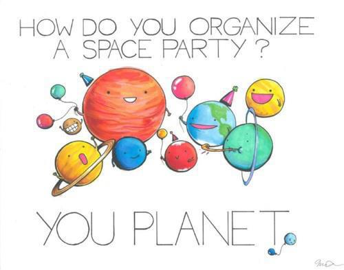space party joke planet