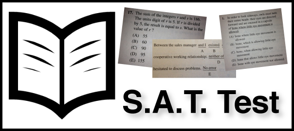 what is on the sat test image