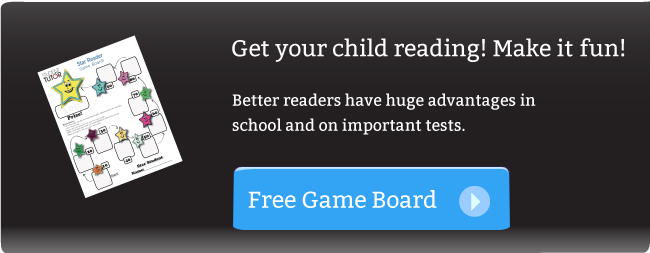 reading and literacy game board