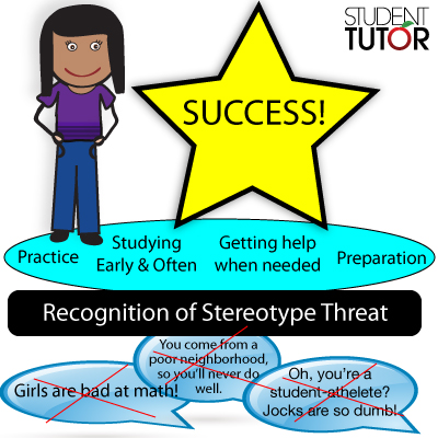 reduce test anxiety by overcoming stereotype threat