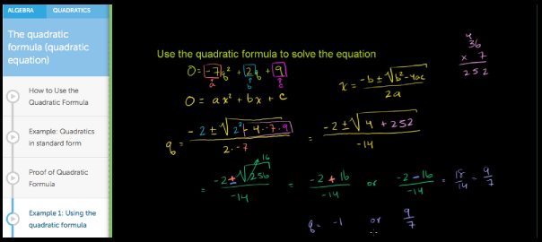 free online math tutoring resource khan academy