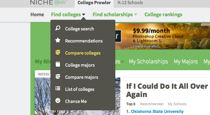 compare colleges