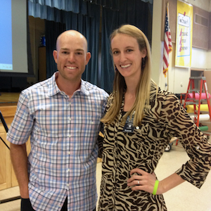 laura petersen and robbie gould