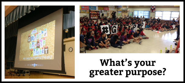 greater purpose project