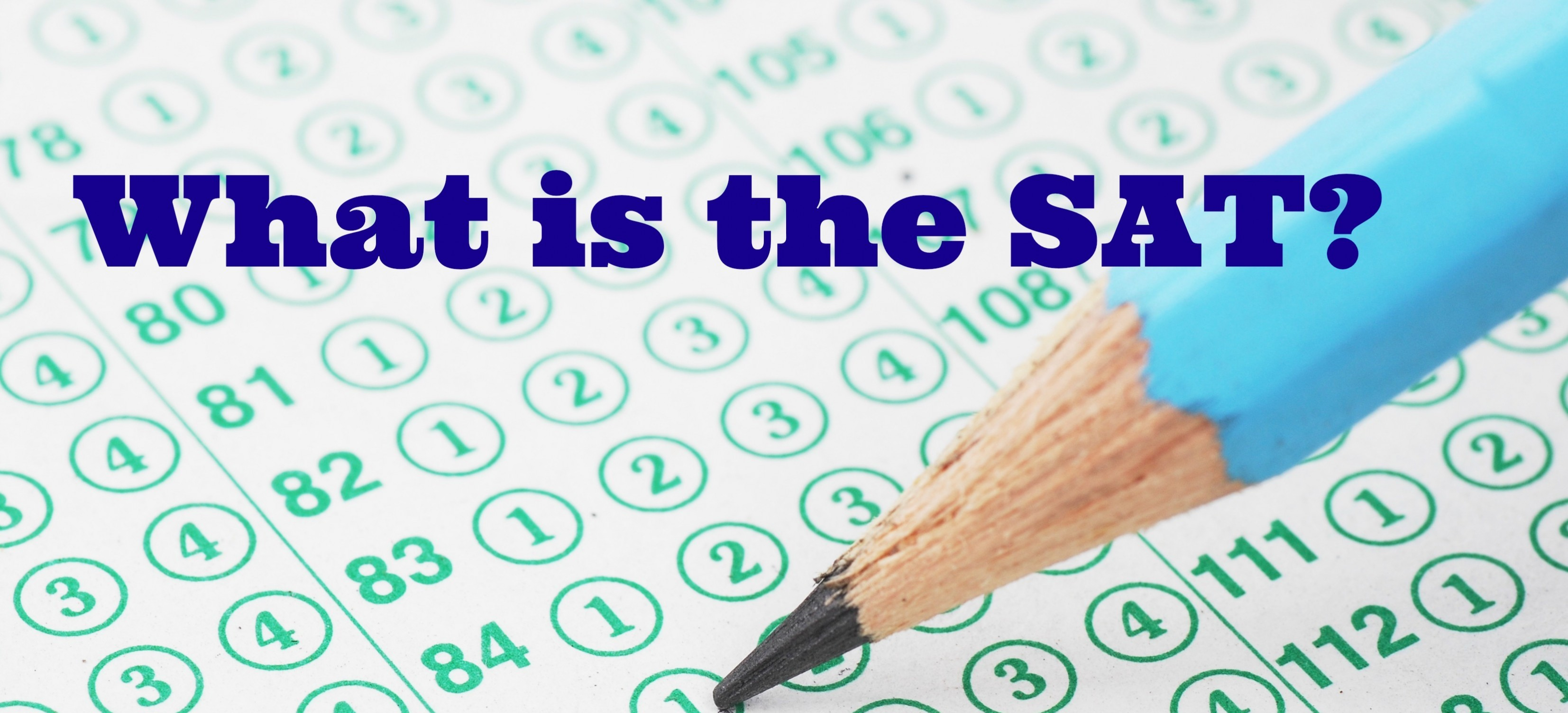 What's on the SAT?