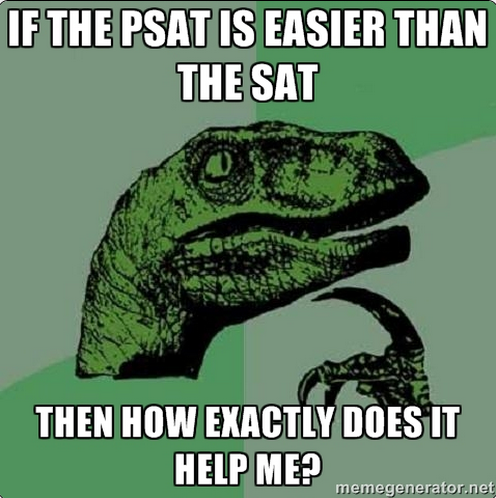 Why are good PSAT scores beneficial?