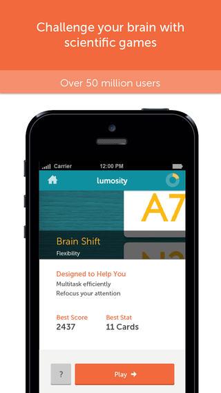 Lumosity 1 top math apps