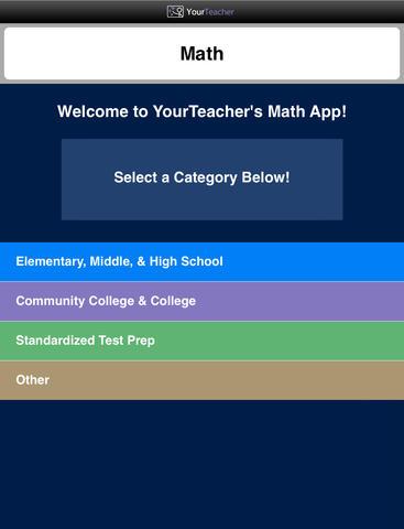 Math 1 Top Math Apps
