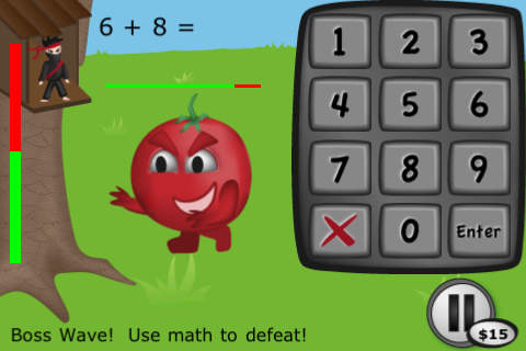 Ninja 1 top math apps
