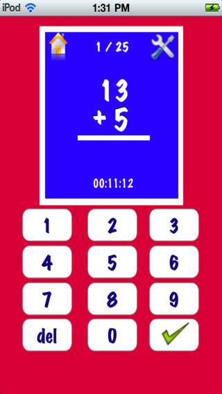 My maths homework app for kids
