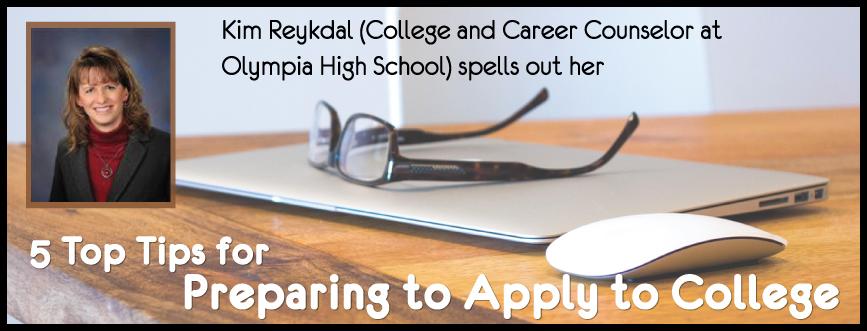 applying to college prep kim reykdal student-tutor