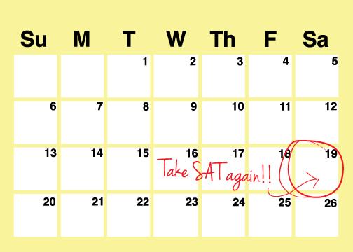 take SAT again student-tutor