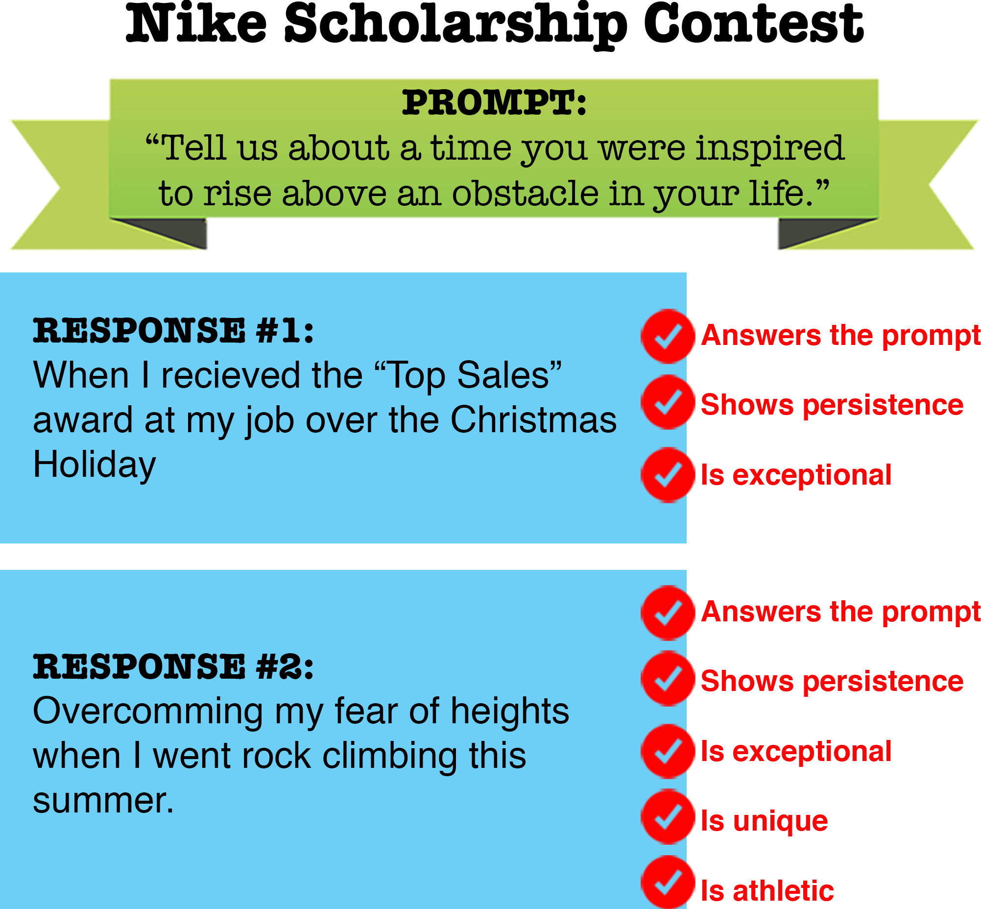How To Write A Winning Scholarship Essay In  Steps Nikeschol