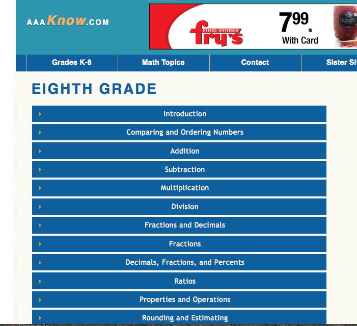 math worksheet : free online math practice 8th grade  educational math activities : 8th Grade Math Worksheets Online