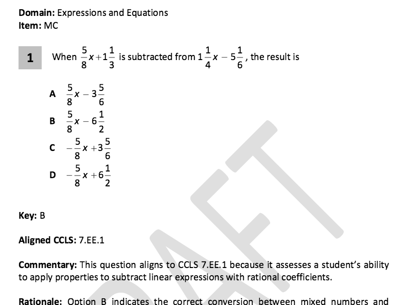 Math equations worksheets grade 7