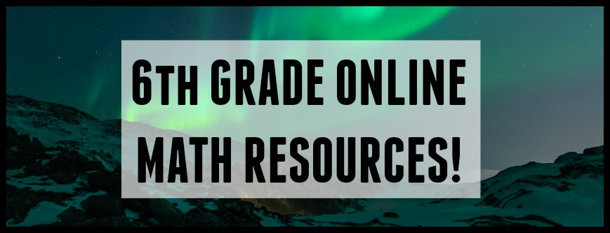 6th grade online math resources student-tutor