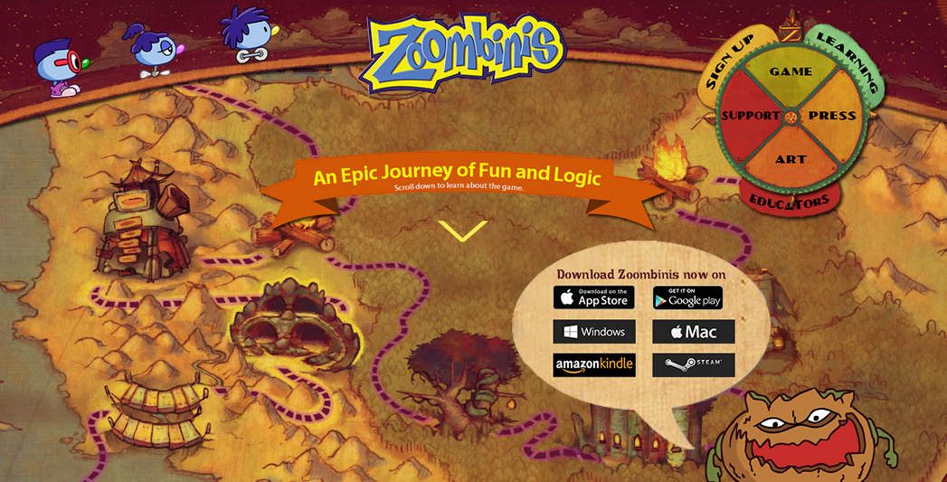 zoombinis logical journey