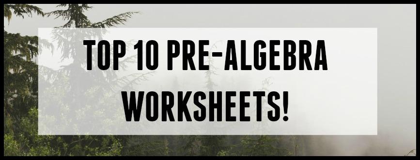 Top 10 PreAlgebra Worksheets StudentTutor Blog – Pre Algebra Fractions Worksheets