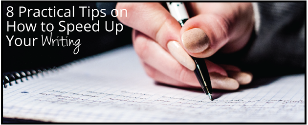 How do I speed up the brainstorming process when writing an essay??