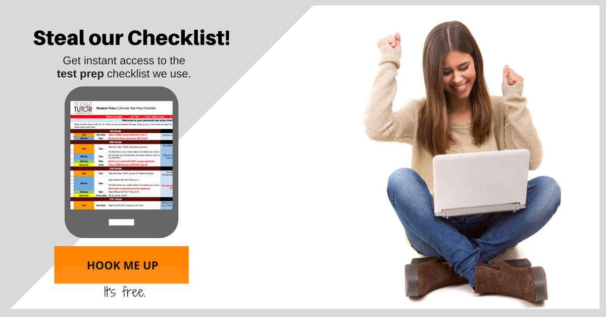 lm checklist cita with girl test prep grey