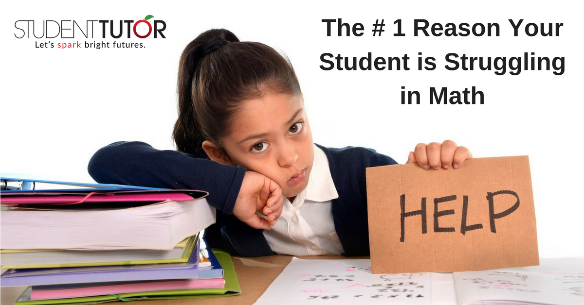 the 1 reason your student is will struggle with math student