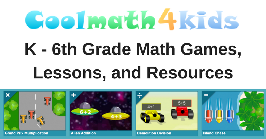 Cool Math 4 Kids - Math + Games for kids, teachers, and parents
