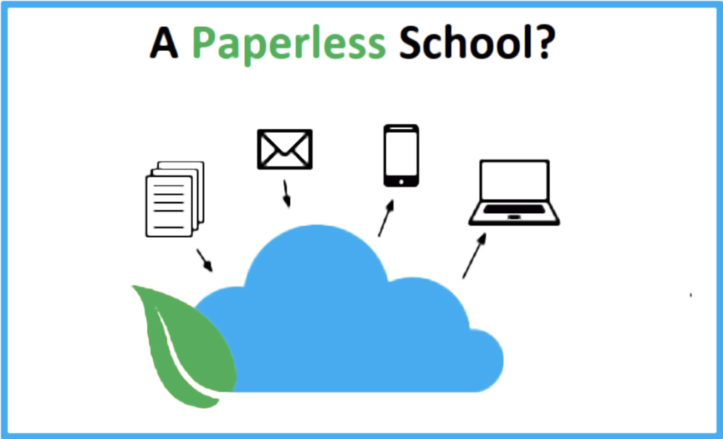 Using the cloud to transition from a paper-based system to a mobile device-based system