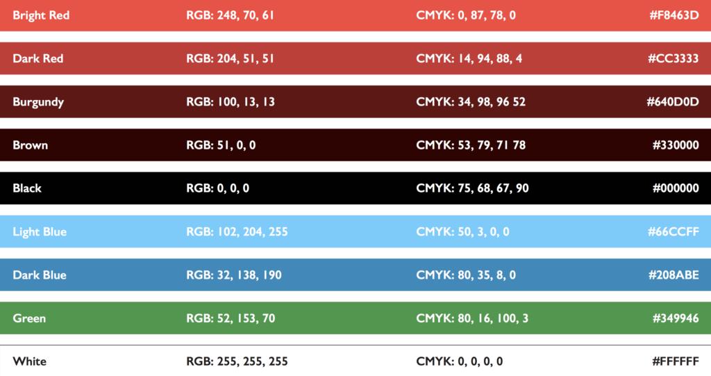 Student-Tutor Guest Blog Branding Colors