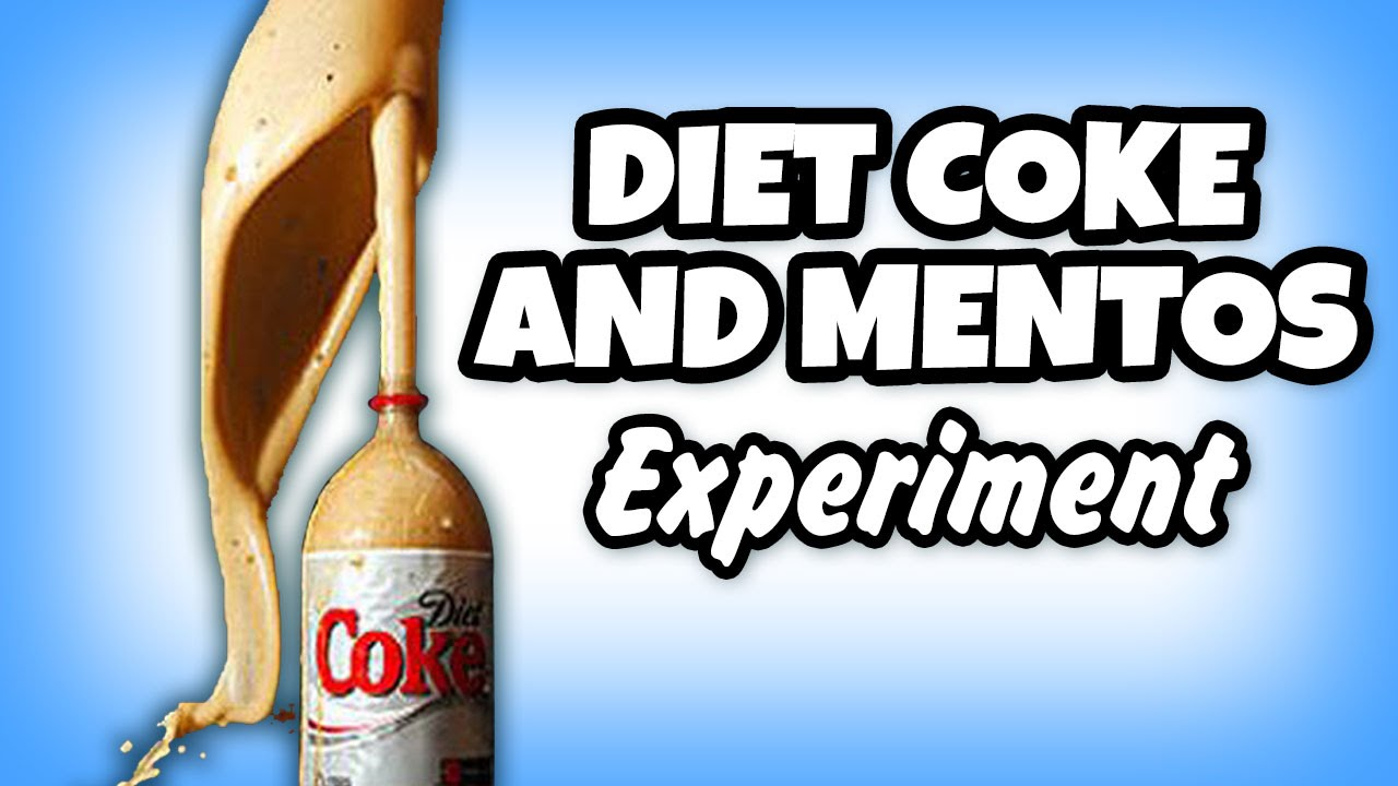 Diet Coke and Mentos Science Experiment via: Image Kid