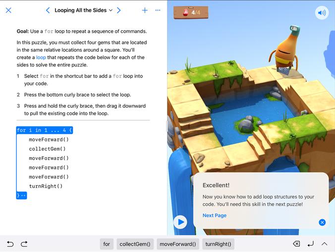 Coding Languages Swift Playgrounds