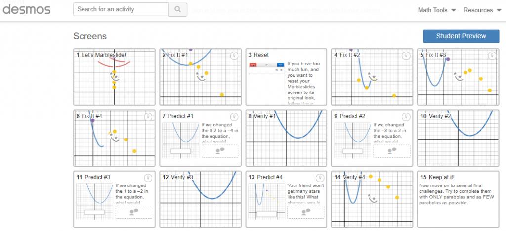 Math Help Websites Desmos