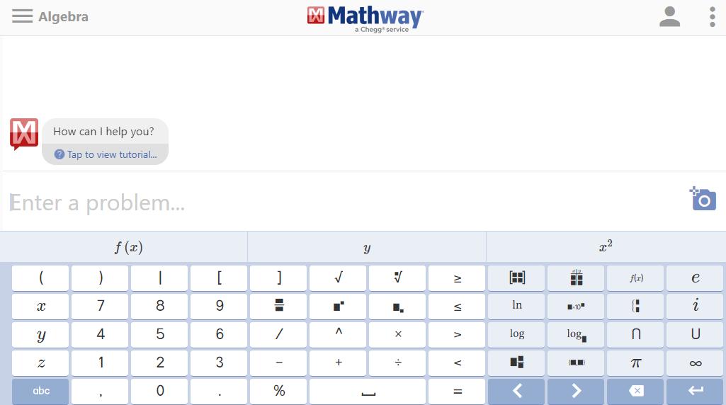 Math Help Websites Mathway